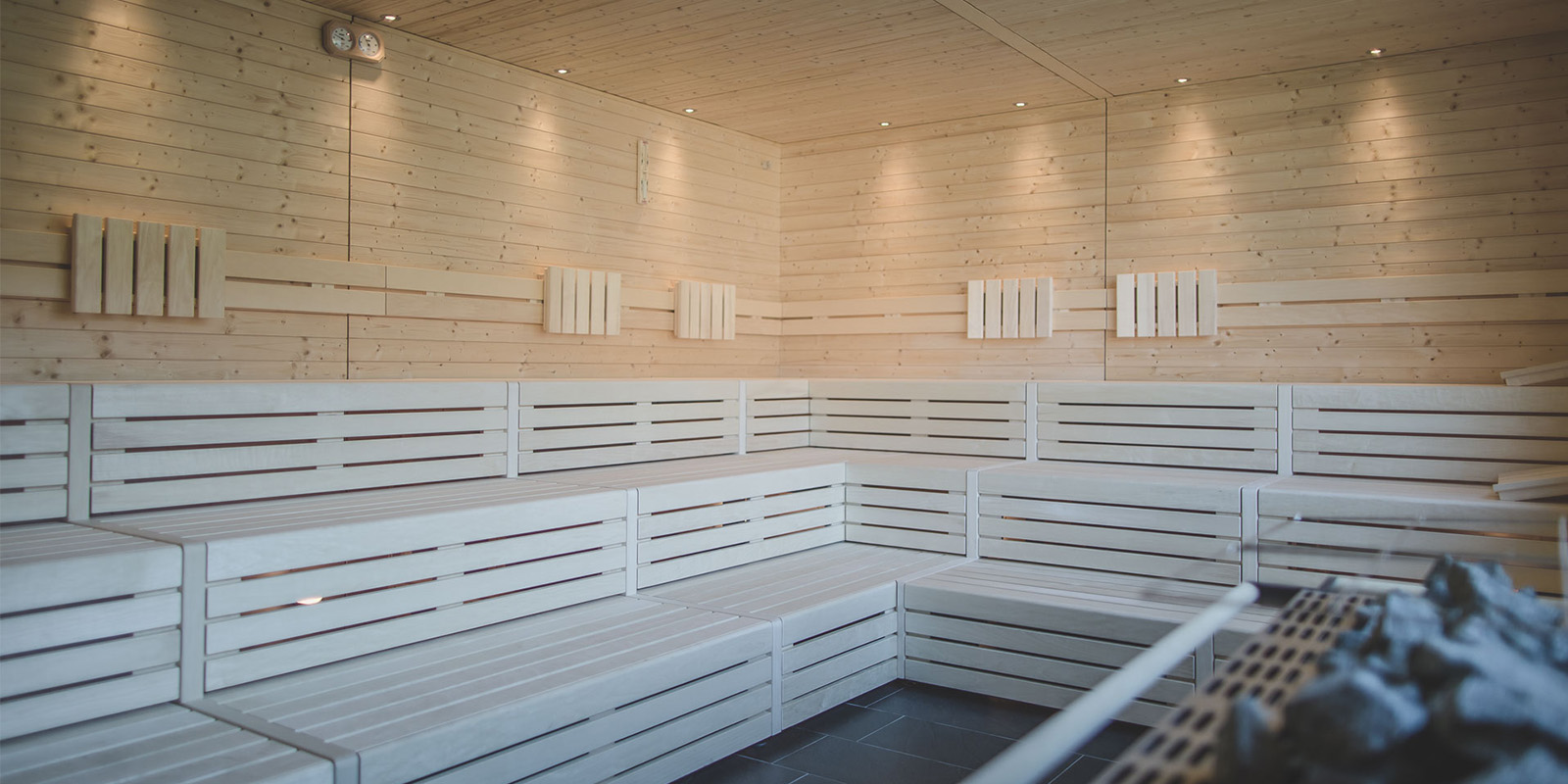 02 hofer group sauna cabina calda